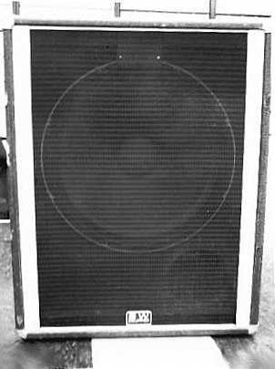 Peavey 118d 18inch Bass Cabinet